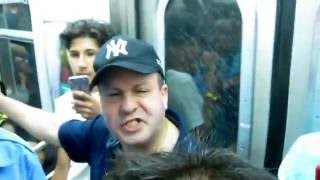 Angry Subway Rider -transforms- Happy Train Rider (Coney Island | July 4th, 2016)