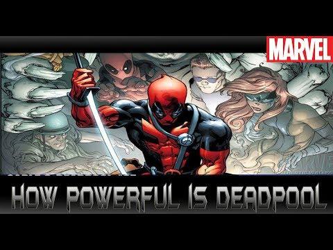 ความโกงของ Deadpool [How powerful is deadpool]comic world daily