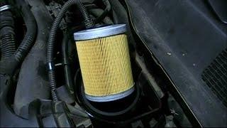 Замена топливного фильтра. Opel