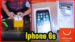 Unboxing iPhone 6s Económico Aliexpress PERÚ ????????