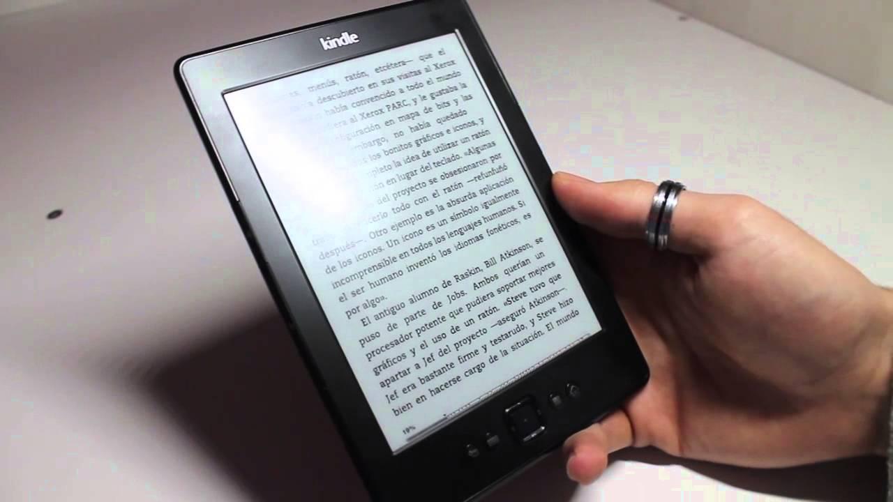 Kindle cuarta generación