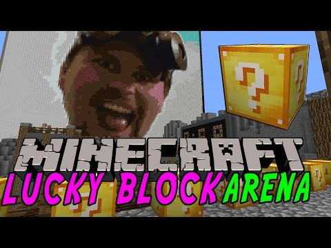 Minecraft: NY LUCKY BLOCK ARENA - Lucky Block Mod - Modded Mini-Game