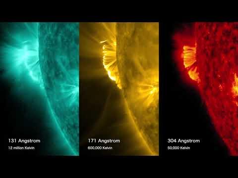 Biggest solar eruption in years seen in multiple wavelengths by spacecraft