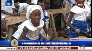 commissioning of obasanjo presidential library pt 11