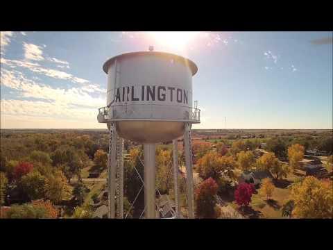 Water Tower-City Of Arlington, Ks