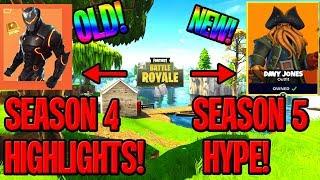 Season 4 HIGHLIGHTS | Season 5 Hype (Piraten?)🤔 | Fortnite Battle Royale