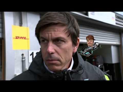 Nico Rosberg Trolls Toto Wolff at Spa (Belgium)