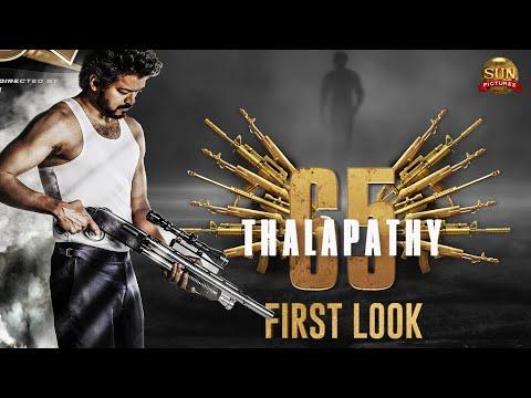 Thalapathy 65 Official First Look | Thalapathy Vijay | Nelson Dilipkumar | Anirudh |HD