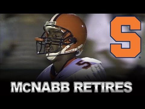 Eagles To Retire Number Of Former Syracuse Star Donovan McNabb | ACCDigitalNetwork