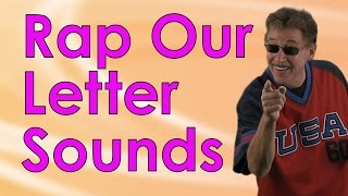 rap our letter sounds is a fun beginning letters sounds song for kids   jack hartmann