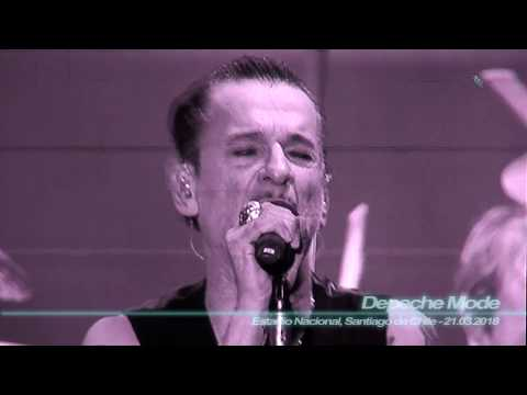 Depeche Mode - Never Let me Down Again ( Mix.Cam - Estadio Nacional, Stgo.de Chile - 21.03.2018 )