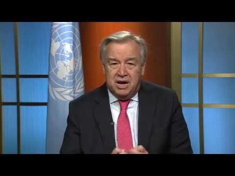 António Guterres faz apelo à paz