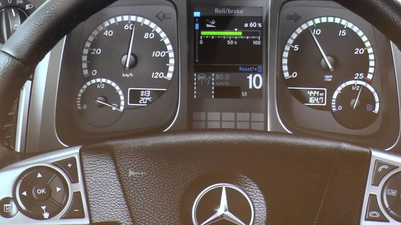 Mercedes Atego 815 Dashboard Warning Lights Explained