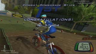 【TAS】爆走マウンテンバイカーズ SALTCITY MX 0:57:04  (Downhill Domination)