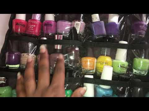 Nail Polish Organization Ideas:Tips | Room Organization Series|