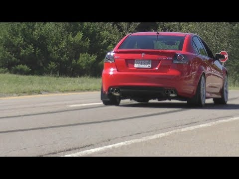 MEAN Pontiac G8 GT Cammed V8 Sounds!