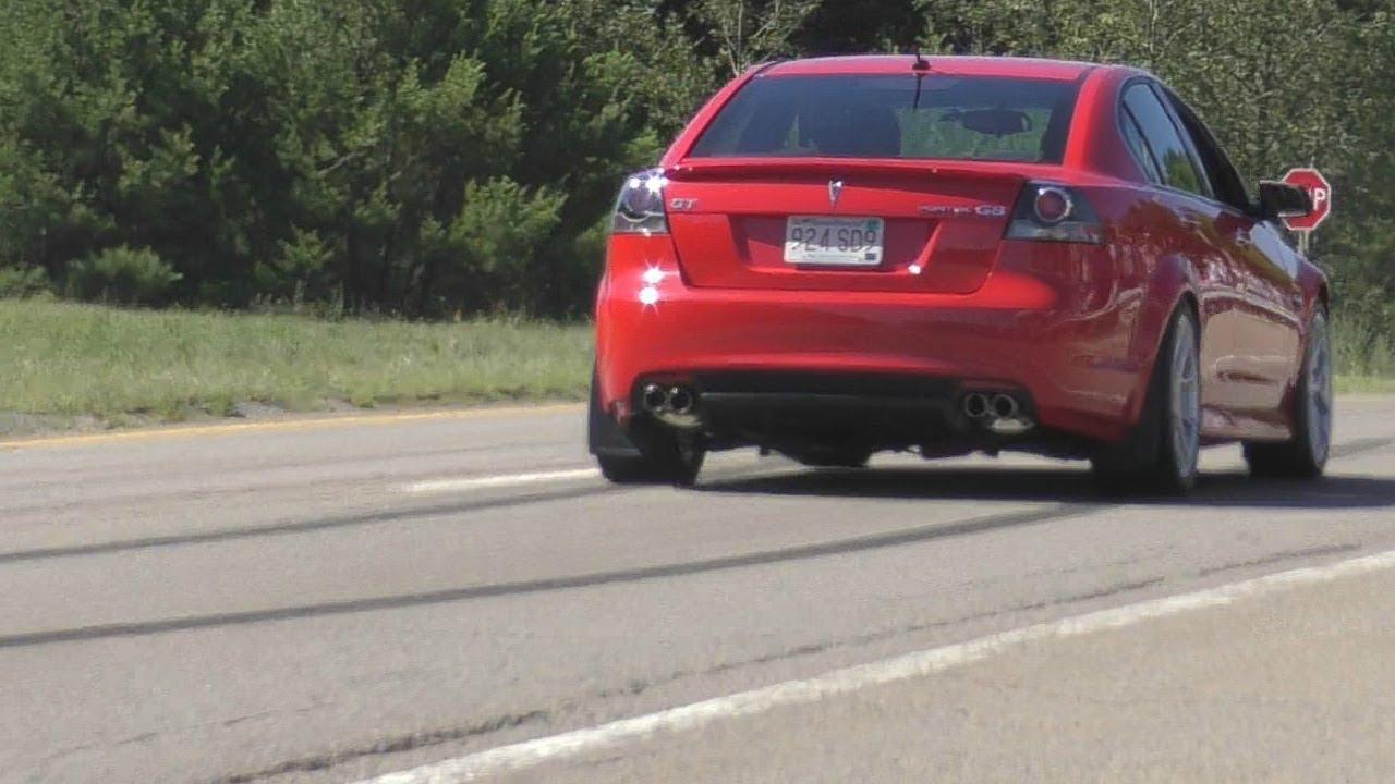 MEAN Pontiac G8 GT Cammed V8 Sounds!