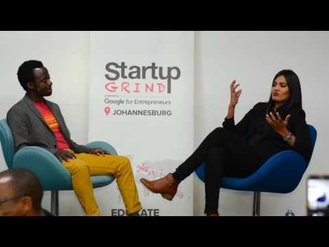 Ramona Kasavan (Mimiwomen) at Startup Grind Johannesburg
