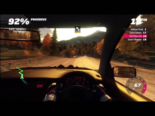 Forza Horizon Rally Beaumont stage 4