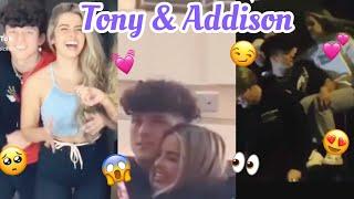 Tony Lopez & Addison Rae Cutest Moments❤️
