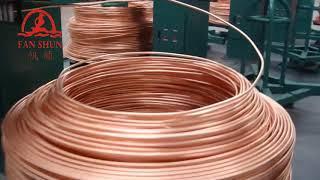 Upward continuous oxygen-free copper rod,wire,tube casting machine manufacturer