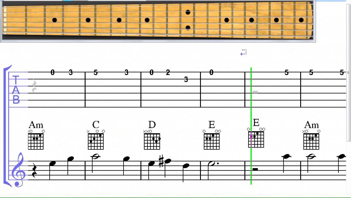 scarborough fair guitar tab pdf