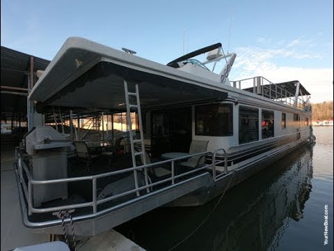 1996 Sumerset 18 x 86 WB Houseboat For Sale on Norris Lake TN