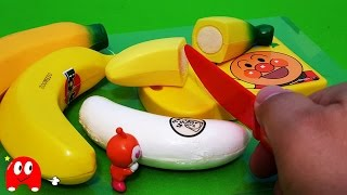 アンパンマン アニメ❤おもちゃ バナナでおままごとキッチン Surprise Eggs Toy Kids トイキッズ animation anpanman thumbnail