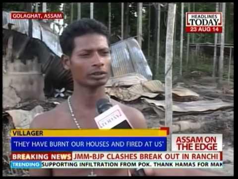 Tarun Gogoi seeks CBI proble into violence along Assam border