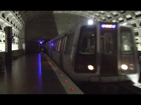 ᴴᴰ Washington Metro: Blue Line Action at Crystal City