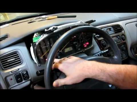 2000 Honda Accord Instrument Cluster Display Lighting And Odometer Repair.