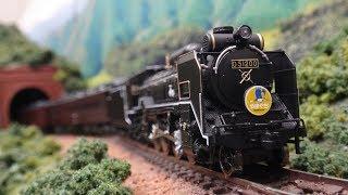 D51形 SLやまぐち号[JR]【鉄道模型・railway model】