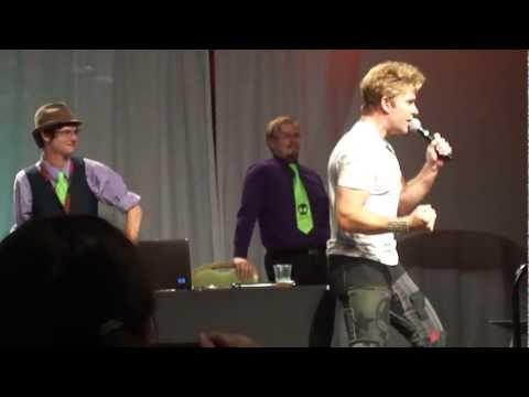 Vic Mignogna singing Dragon Soul - Dragon Ball Z Kai Opening