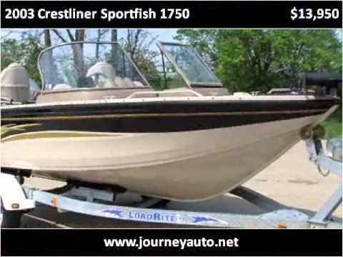 Used Cars Ky >> 2003 Crestliner Sportfish 1750 Used Cars Berea KY - YouTube
