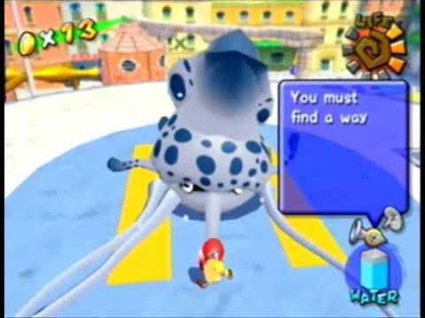 Super Mario Sunshine - Gooper Blooper (2nd Fight)