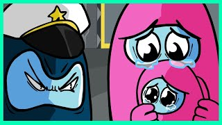 ⭐️ IMPOSTOR VS CREWMATE - AMONG US SAD ANIMATION