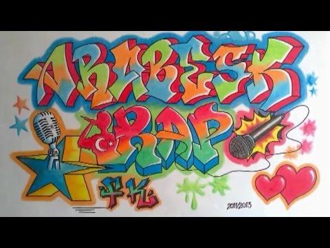 Fk Duvar Yazisi Arabeskrap Graffiti