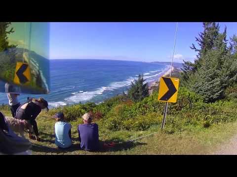 Portland Motorcycle Group ride, Oregon Coast.