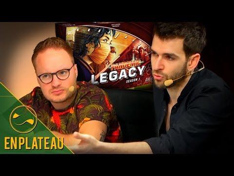 Un Jeu très bien noté !  Pandemic Legacy Saison 1 - En Plateau
