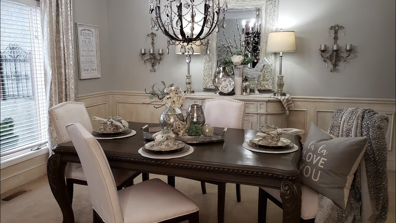 Spring Dining Room Tour My New Light Fixture French Country Glam Youtube,Good Plants To Grow Indoors In Winter