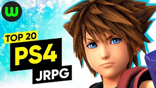 Top 20 PS4 JRPGs of All Time