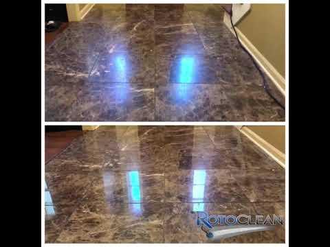 Marble Floor Refinishing & Polishing