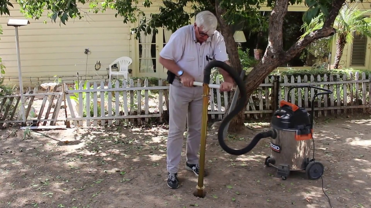 Super Fast Holey-Moley Fence Post Hole Digger