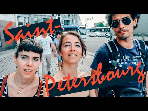17. SAINT-PETERSBOURG, enfin en RUSSIE !