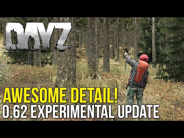 Awesome Fidelity Overhaul! #DayZ 0.62 Experimental Update