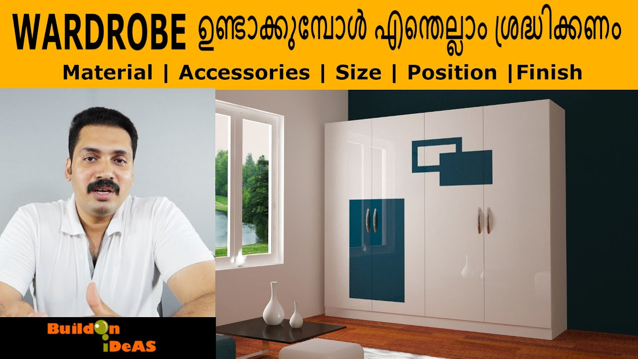 WARDROBE Materials | Accessories | Size | Position | Finishing
