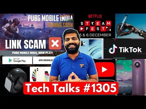 Tech Talks #1305 – PUBG INDIA SCAM, Fastest Phone, iPhone 11 Free, Nokia 3 4, Pixel XE, YouTube Warn
