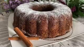 Морковный кекс пирог
