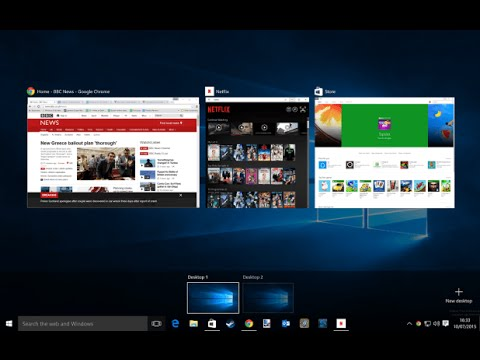 disable multiple desktops windows 10