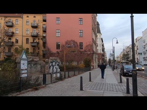 Berlin - Walking From Eberswalder Straße To Schönhauser Allee [1440p60]